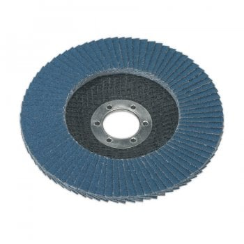 FD12540 FLAP DISC ZIRCONIUM 125MM 22MM BORE 40GRIT