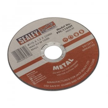 PTC/115CET CUTTING DISC 115 X 1.2MM 22MM BORE