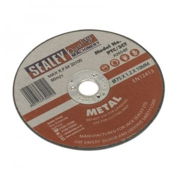 PTC/3CT CUTTING DISC 75 X 1.2MM 10MM BORE
