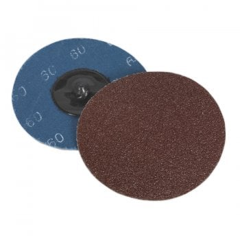 PTCQC7560 QUICK CHANGE SANDING DISC 75MM 60GRIT PACK