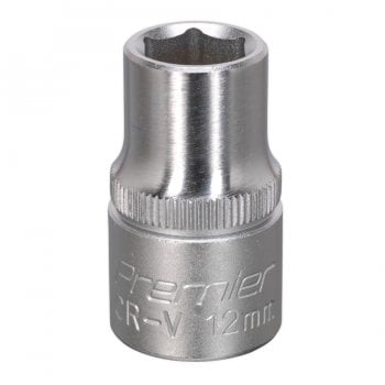 S1212 WALLDRIVE SOCKET 12MM 1/2 SQ DRIVE