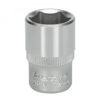 S1412 WALLDRIVE SOCKET 12MM 1/4 SQ DRIVE