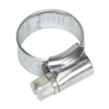 SHC000 HOSE CLIP ZINC PLATED 8-14MM PACK OF 30