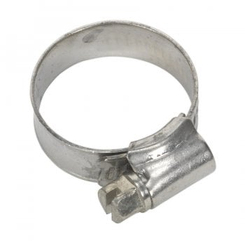 SHCSS0 HOSE CLIP STAINLESS STEEL 16-27MM PACK OF 10
