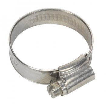 SHCSS1A HOSE CLIP STAINLESS STEEL 25-38MM PACK OF 10