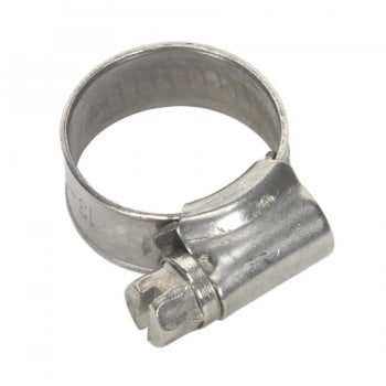 SHCSSM00 HOSE CLIP STAINLESS STEEL 13-19MM PACK OF 10