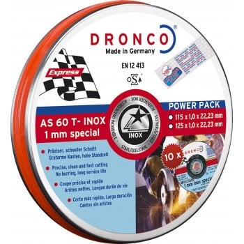 DCLP51/1 DRONCO INOX SPECIAL 115 X 1MM TIN
