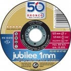 DCLP71/1 DRONCO JUBILEE 125MM CUT DISC TIN
