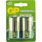 BAT1/1 (2) GP BATTERIES EX/HVY DUTY 1.5V D