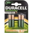 BAT118 DURACELL RECHARGEABLE AAA 750MAH